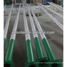 Lamp Pole, 3-15Mtrs Hot-dip-galvanized Steel Pole,Spray Coated Street Light Pole